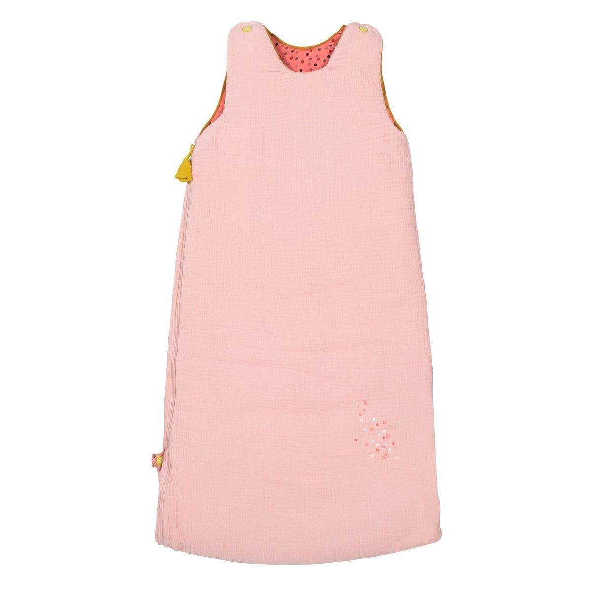 be8b281108 Sac de couchage rose 90-110 cm Les Jolis trop beaux, 665089, Moulin Roty -  La Maison de Zazou