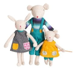Fille lapin Camomille Famille Mirabelle