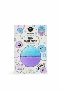 boule de bain nailmatic - bleue et violette - nailmatic