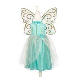 robe déguisement 8-10 ans - josiane robe et ailes - couleur menthe -  souza
