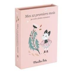 Cartes Mes 12 premiers mois - Après la pluie (30 cartes) - Moulin Roty