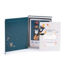 Cartes Mes 12 premiers mois - Les Moustaches (30 cartes) - Moulin Roty