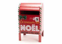 décoration boite aux lettres de noel  - amadeus