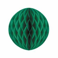 décoration - boule alveolee vert sapin 30cm  - tim&puce factory - la maison de zazou