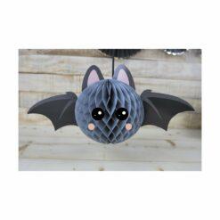 décoration - chauve-souris alvéolée - sweety halloween  - tim&puce factory - la maison de zazou