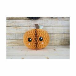 décoration - citrouille alvéolée - sweety halloween  - tim&puce factory - la maison de zazou