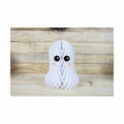 décoration - fantome alvéolé -  sweety halloween  - tim&puce factory - la maison de zazou
