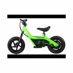 draisienne moto électrique - kidybike vert - kidywolf