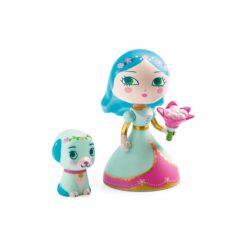 figurine arty toys princesse luna et blue - djéco - la maison de zazou