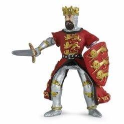 figurine du monde médiéval  - roi richard - le médiéval - fantastique - papo
