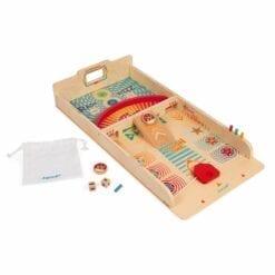 jeu d'adresse - jeu de palets en bois certifié fsc -jeu d'adresse - janod