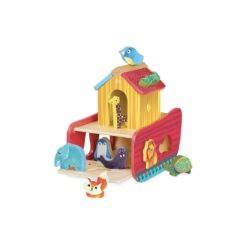 jeu d'éveil - arche des des animaux des formes -vilac - la maison de zazou