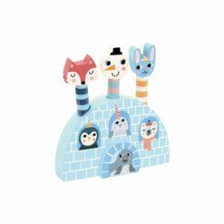 jeu d'éveil - pop-up iceland michelle carlslund -vilac - la maison de zazou