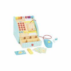 jeu d'imitation en bois - caisse enregistreuse - jour de marché  -vilac - la maison de zazou