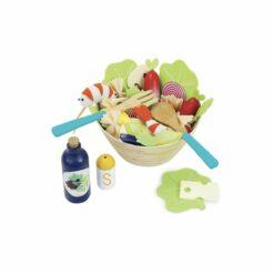 jeu d'imitation - la grande salade - jour de marché -vilac - la maison de zazou
