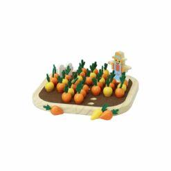 jeu d'imitation - le solitaire du potager - jour de récolte -vilac - la maison de zazou