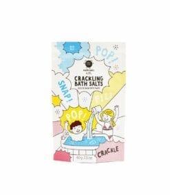 jeu de bain crépitant - sel de bain - bleu - nailmatic