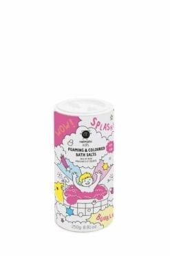 jeu de bain crépitant - sels de bain colores & moussants rose - nailmatic