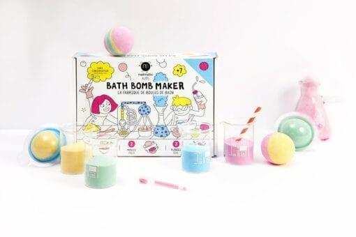 jeu de bain nailmatic - la fabrique de boules de bain - nailmatic