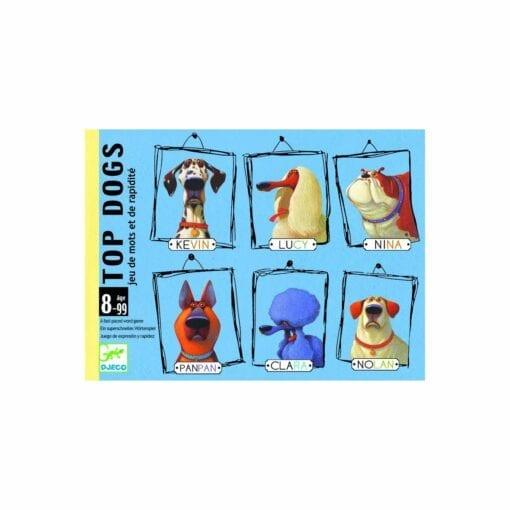 jeu de carte - top dogs - jeux - djéco