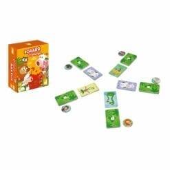 jeu de cartes - roaarr challenge -jeux de societe - janod