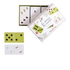 Jeu de dominos - des insectes - Le jardin du moulin - Moulin Roty