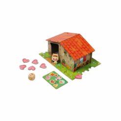 jeu de mémoire - fun farm - en bois certifié fsc - janod - la maison de zazou