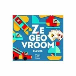 jeu éducatif en bois - ze geovroom - jeux  educatifs bois - djéco