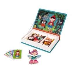 jeu éducatif - magnéti'book contes - janod
