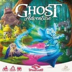 jeux de cartes - ghost adventure - blackrock games - spinboard