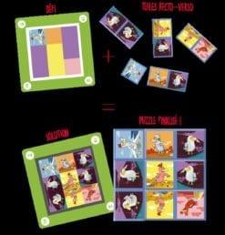 jeux de cartes - mindo petites poules - blackrock games - blue orange