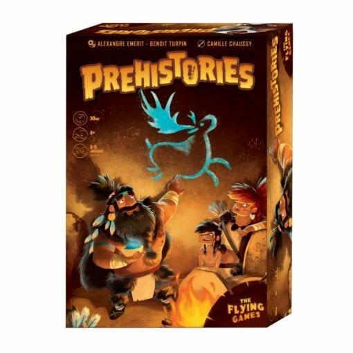 jeux de plateau - phehistories - blackrock games - hthe flying games