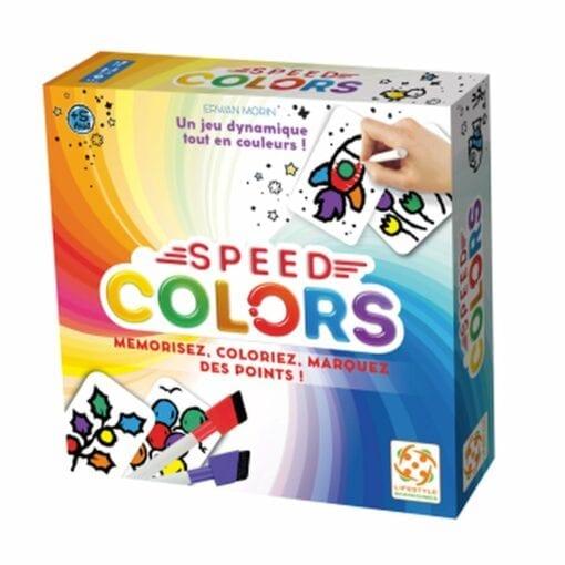 jeux de plateau - speed colors extension - blackrock games - lifestyle boardgames