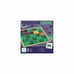 jeux de société - dungeon logic  - djéco - la maison de zazou