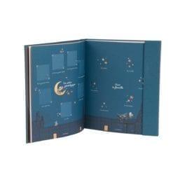 Livre de naissance - Les Moustaches (80 pages) - Moulin Roty
