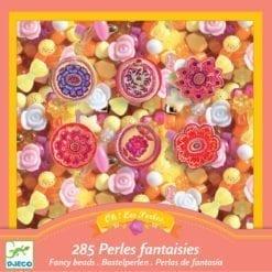 loisir créatif 6 ans - perles et bijoux fleur - design by - djéco