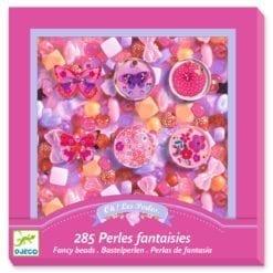 loisir créatif 6 ans - perles et bijoux papillons - design by - djéco