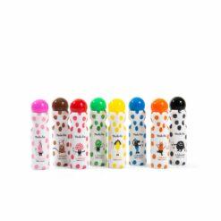 loisir créatif - boîte de 8 marqueurs tampons  - les schmouks - moulin roty - la maison de zazou