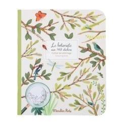 Loisir créatif - Cahier stickers Le botaniste - Le jardin du moulin - 20 pages (emb/6) - Moulin Roty