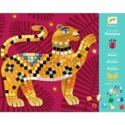 loisir créatif djeco - mosaiques jungle - design by - djéco