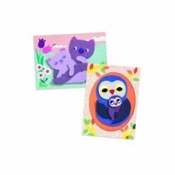 loisir créatif djeco - stickers - les calins - les petits cadeaux - djéco