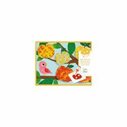 loisir créatif - peinture billes nature multicolore  - djéco - la maison de zazou