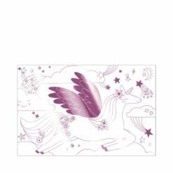 loisir créatif - set 2 posters à colorier - licornes - méri méri