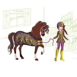 loisir créatif - stickers fées et licornes - defilés de mode