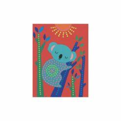 loisirs créatif - peinture au baton - pointillisme  - djéco - la maison de zazou