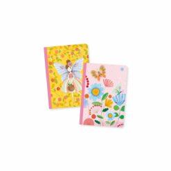 loisirs créatifs - duo petits carnets rose - djéco - la maison de zazou
