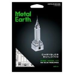 maquette métal earth 12-14 ans - chrysler building - métal earth