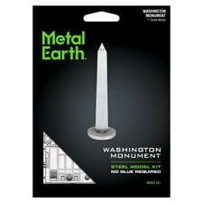 maquette métal earth 12-14 ans - monument de washington - métal earth