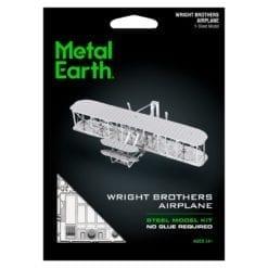 maquette métal earth 12-14 ans - avion wright flyer - métal earth