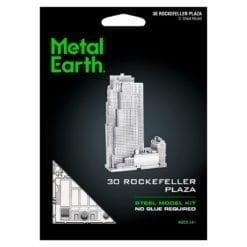 maquette métal earth 12-14 ans - 30 rockefeller plaza - métal earth